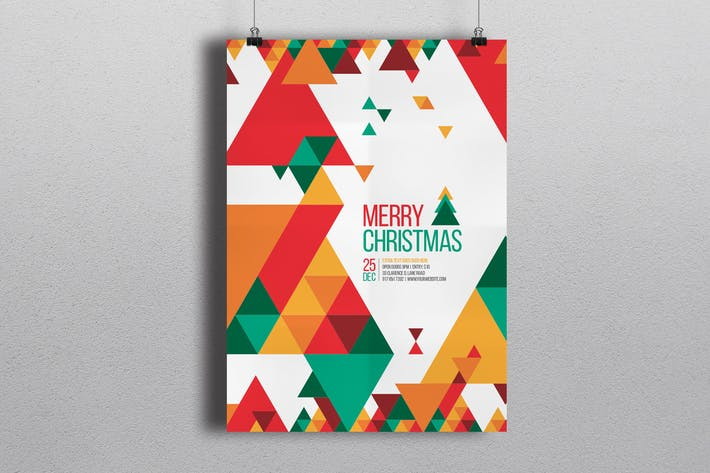 Thumbnail for Minimal Christmas Flyer