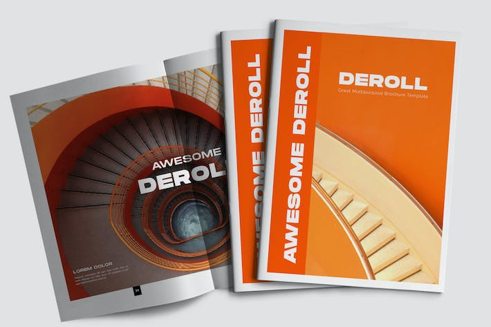 Thumbnail for DEROL - Minimal Brochure Business Corporate