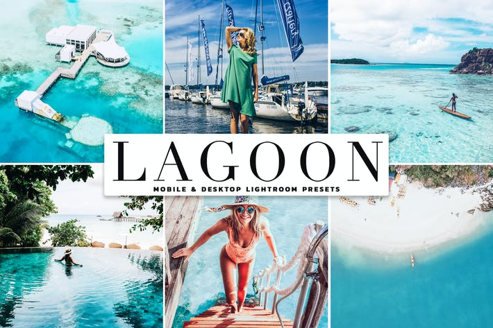 Thumbnail for Lagoon Mobile & Desktop Lightroom Presets