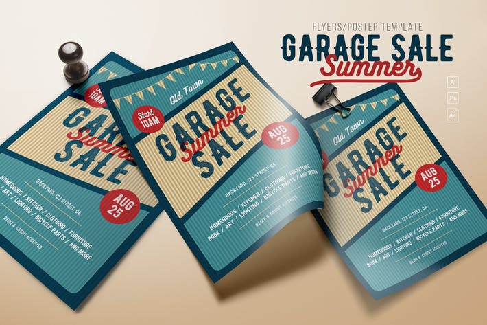Thumbnail for Garage Sale Flyer/Poster