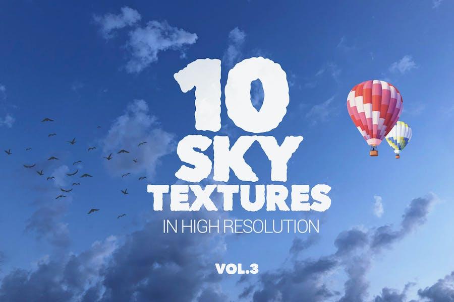 Sky Textures x10 vol3