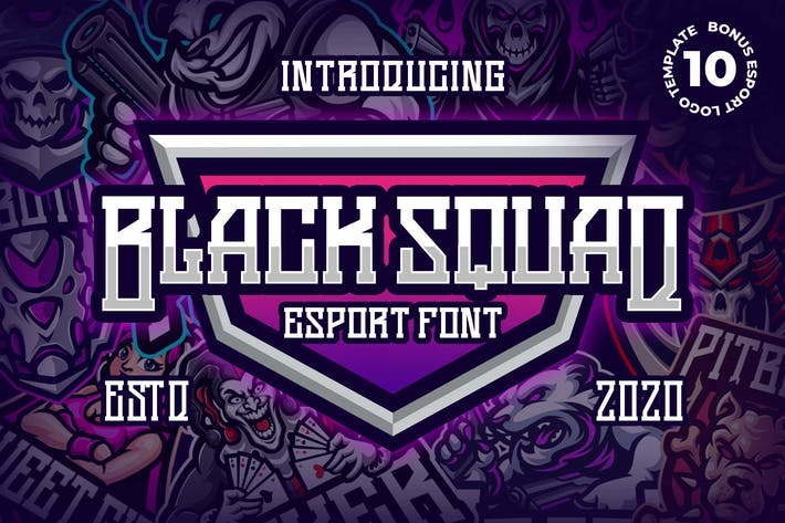 Thumbnail for Police d'esport Black Squad