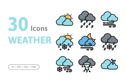30 WetterIcons