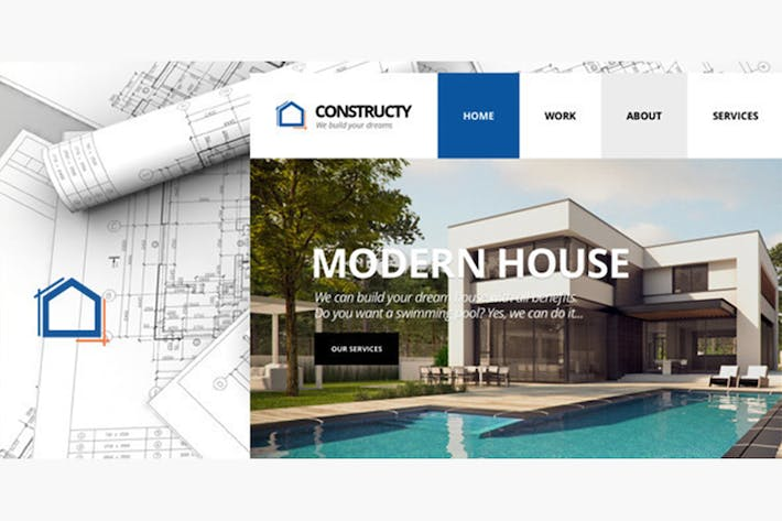 Cover Image For Constructy - Construction Business Building Theme