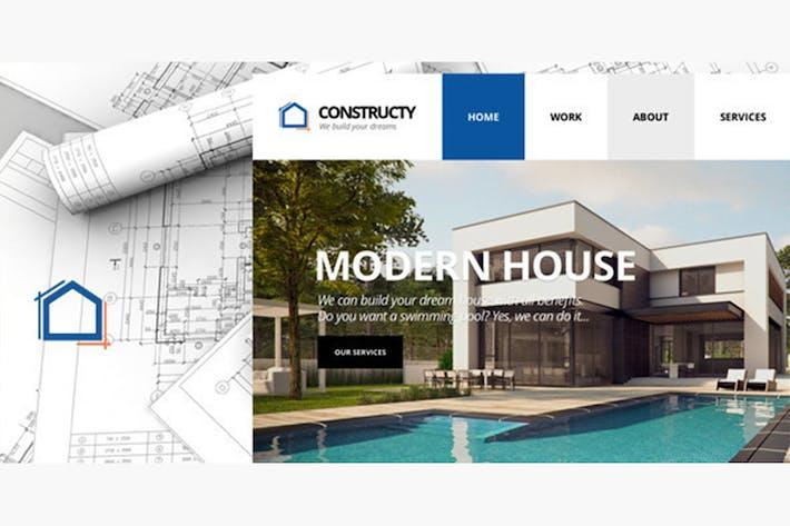 Thumbnail for Constructy - Construcción Negocios Building Tema