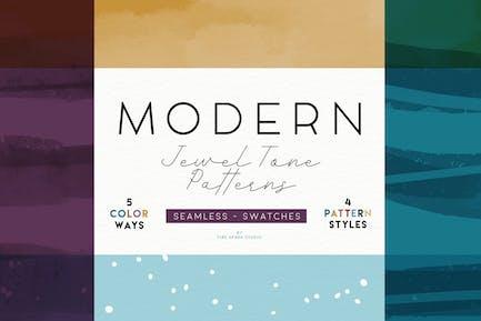 Modern Jewel Tone Patterns