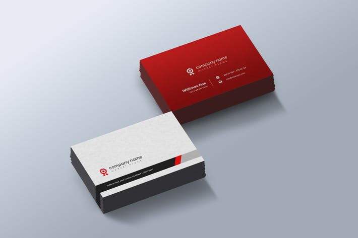 Cover Image For Company - Creative Business Card Template