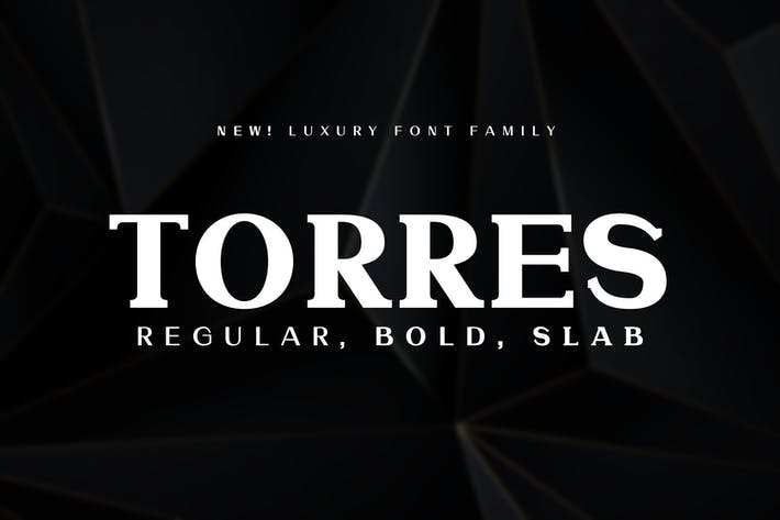 Thumbnail for Torres Font Family