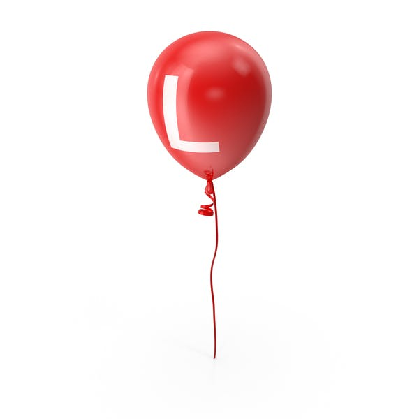 Letter L Balloon