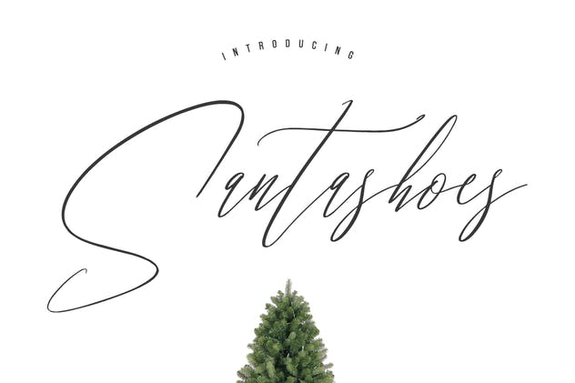 Santashoes Typeface - product preview 0