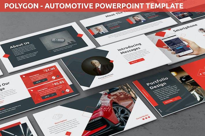 Thumbnail for Polygon - Automotive Powerpoint-Vorlage