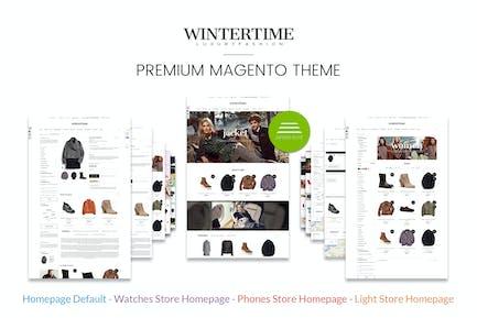 Winter Fashion Responsive Magento Template