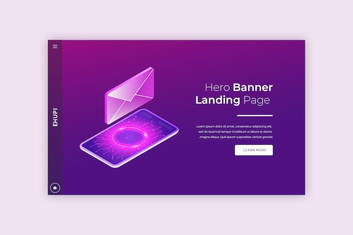 Thumbnail for Ehupi - Hero Banner Template