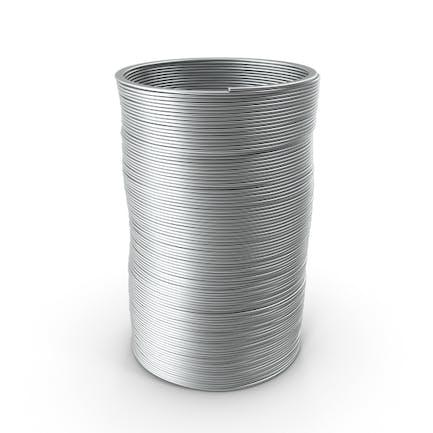 Metal Slinky Spielzeug Frühling