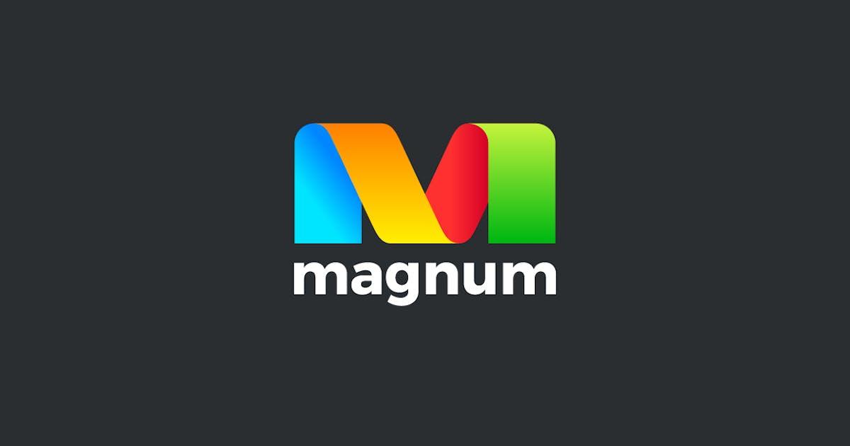 Logo Letter M Ribbon Style by Sentavio