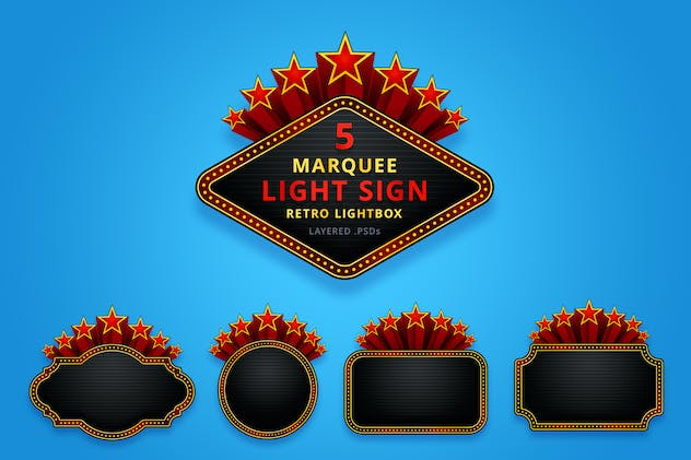 Marquee / Light Sign / Neon Signs