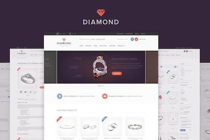 Diamond — HTML5 & CSS3 eCommerce Template