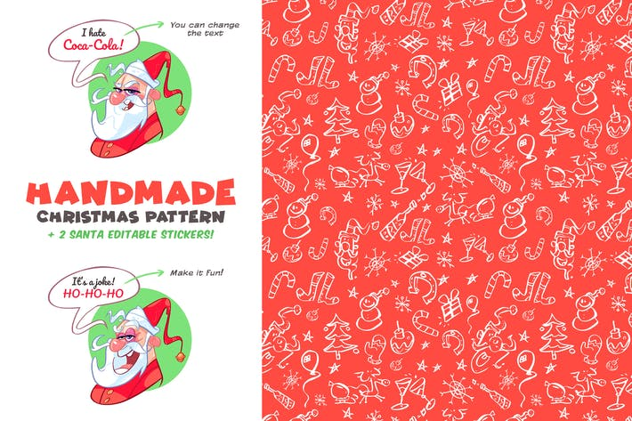 Cover Image For Handmade Christmas Pattern