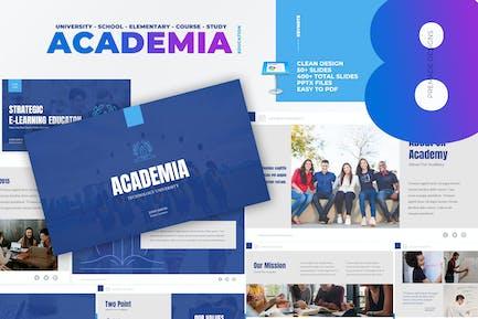 Academia - University School Education Keynote