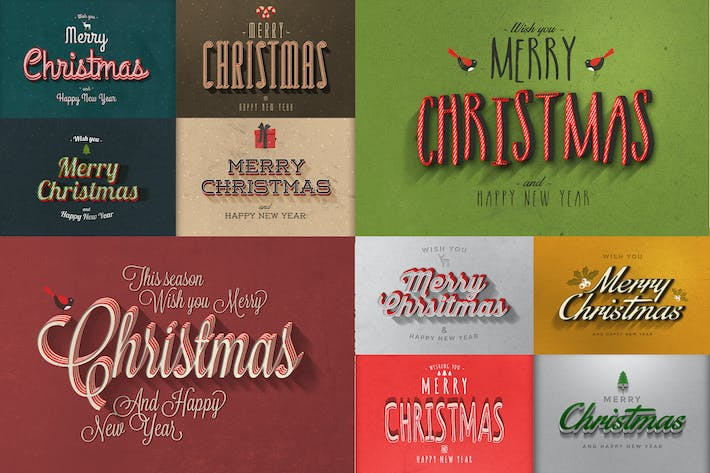 Thumbnail for Christmas Text Effects Vol.2