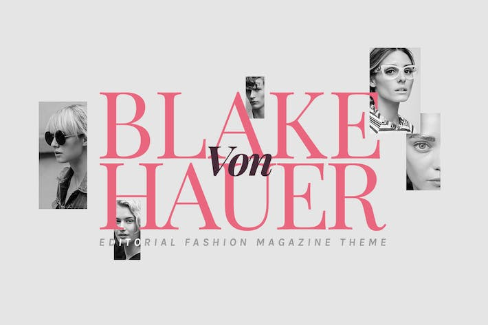 Thumbnail for Blake - Tema del blog de la Revista de moda editorial