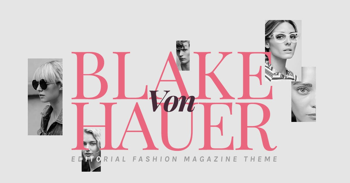 Download Blake - Editorial Fashion Magazine Theme by Burnhambox