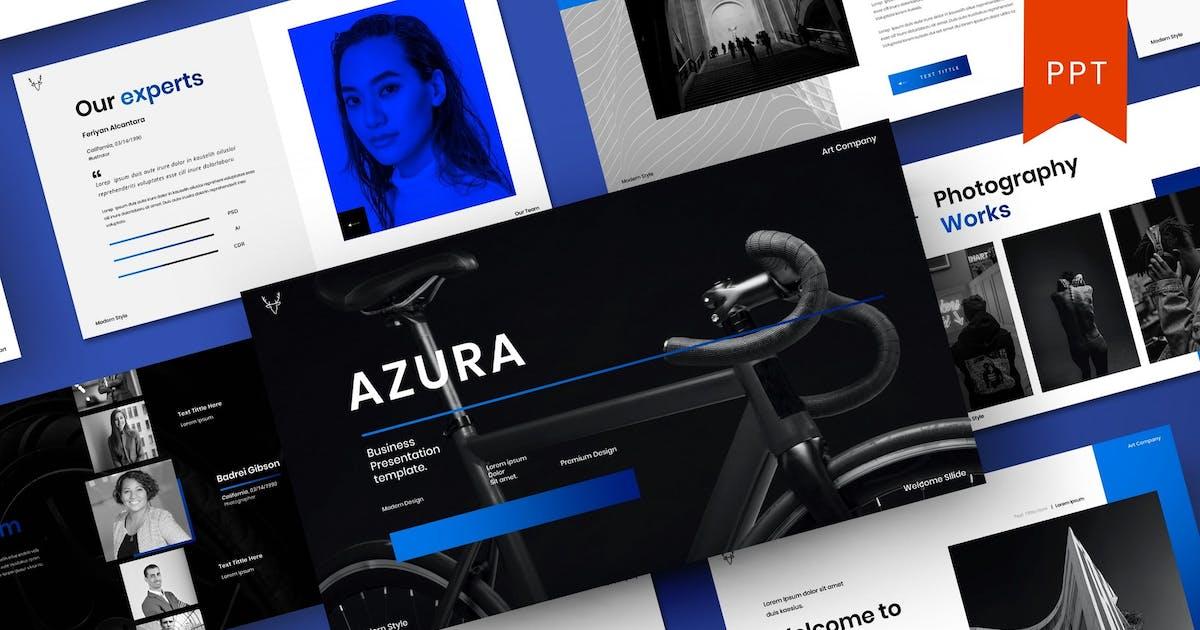 Download Azura – Business PowerPoint Template by DensCreativeStudio
