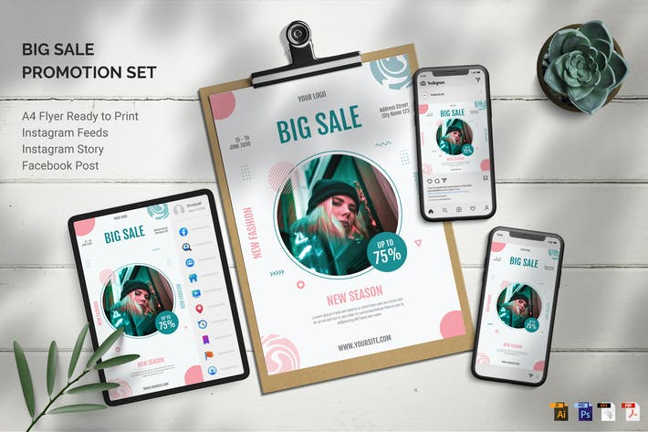 Big Sale - Promotion Set
