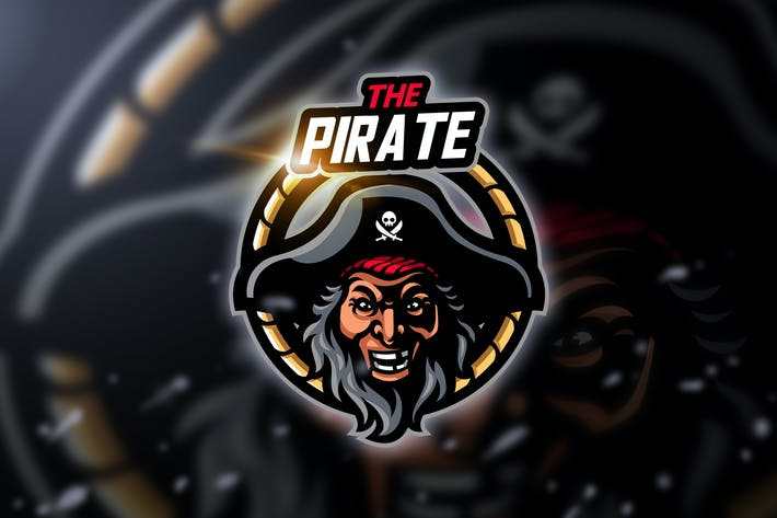 Thumbnail for Pirate - Mascot & Esport Logo