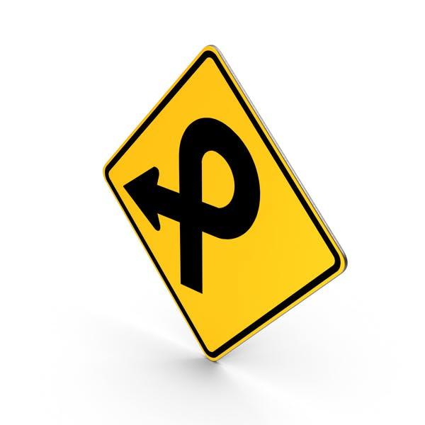 Cover Image for Pretzel Loop Traffic Sign