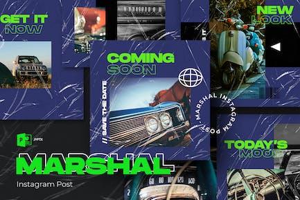 Marshal Powerpoint Instagram Post