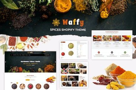 Waffy | Especias, Frutas Secas Tienda Shopify Tema