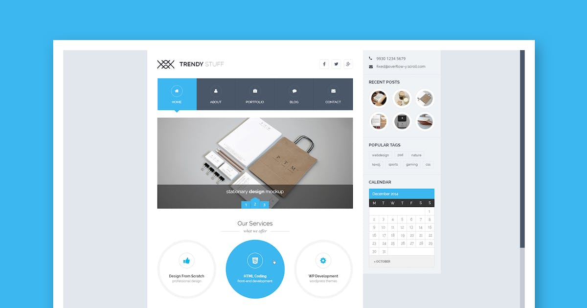 Download Trendy Stuff - Multipurpose PSD by Unknow