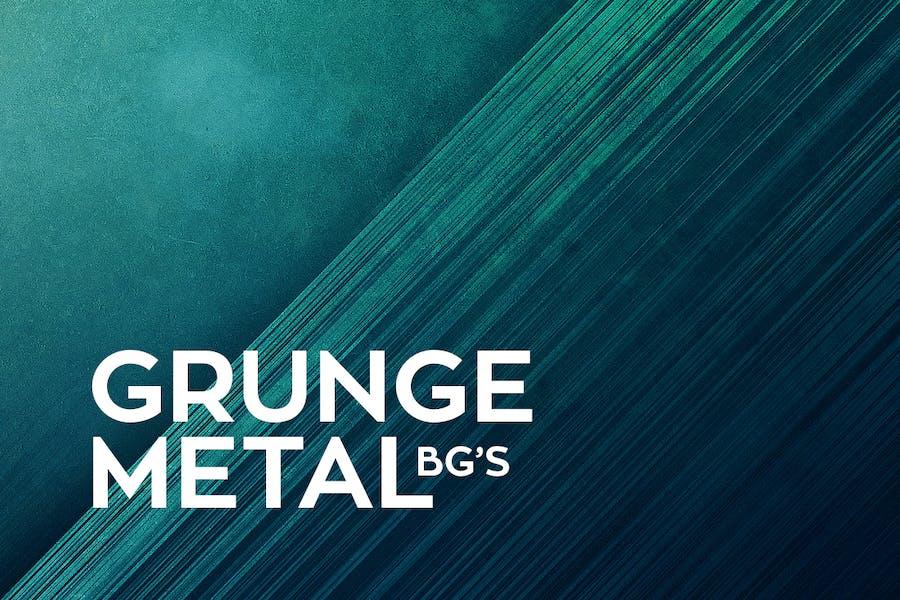 Grunge MetallHintergründe
