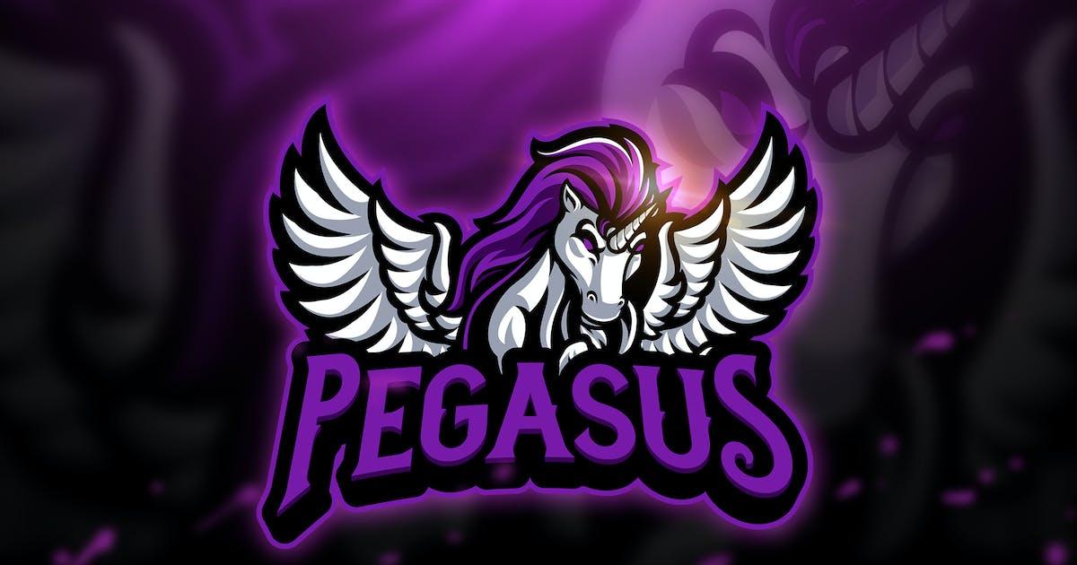 Download Pegasus - Mascot & Esport Logo by aqrstudio