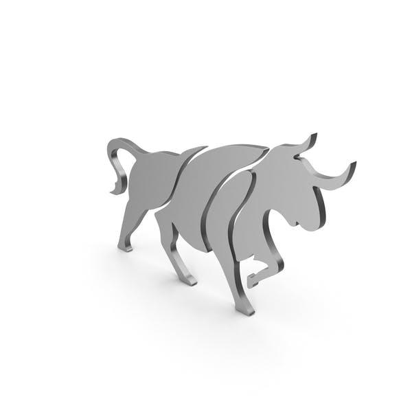 Bull Figure Metal