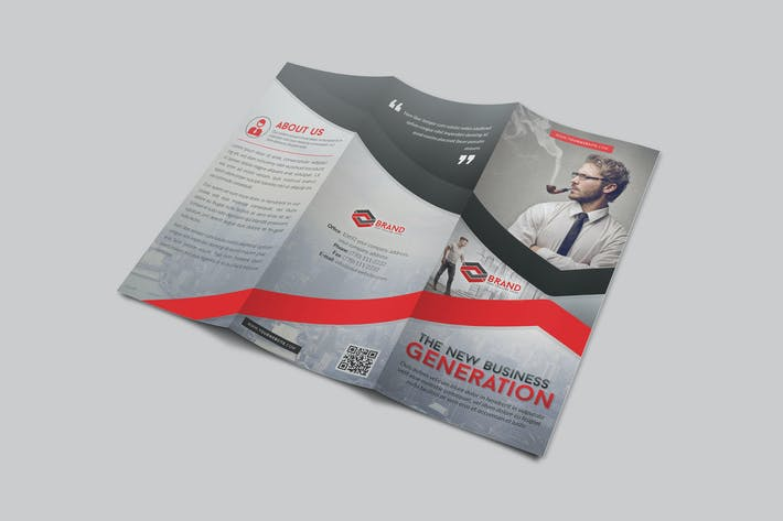 Cover Image For Modern Corporate Trifold