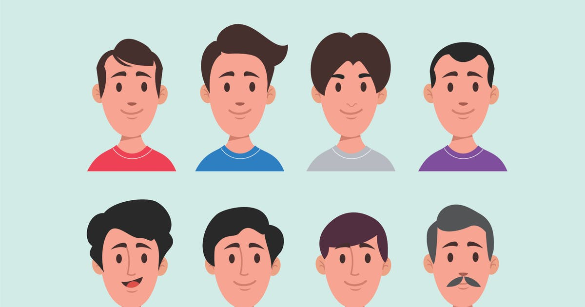 Download Male Editable Avatar by celciusdesigns