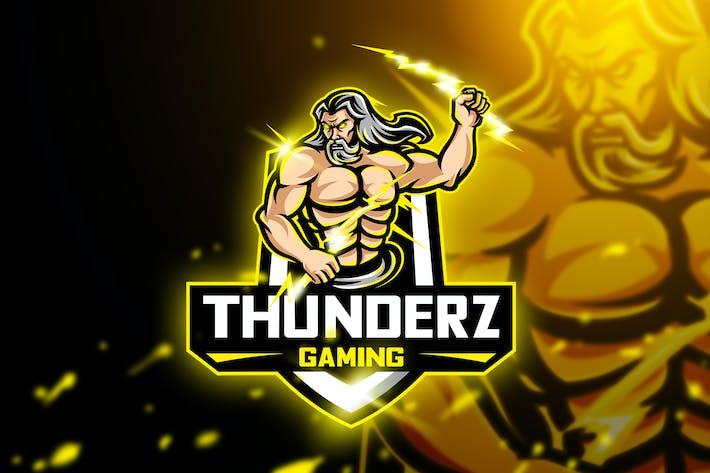 Thumbnail for Thuderz Gaming - Mascot & Esport Logo