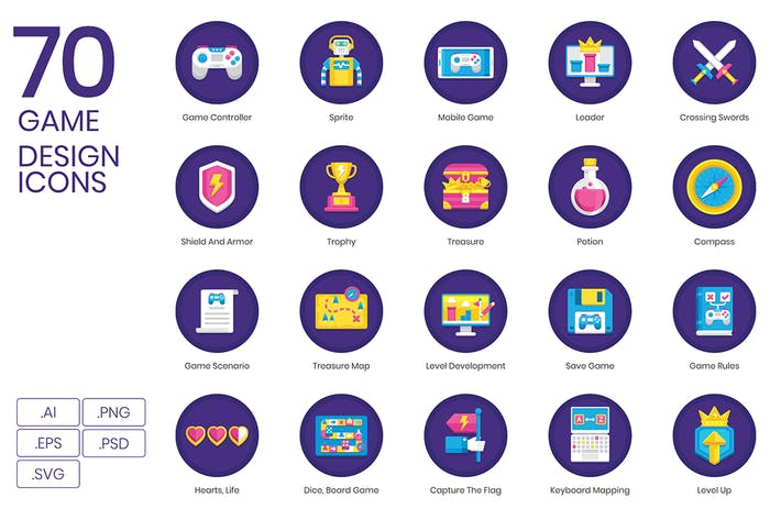 Thumbnail for Game Design Icons