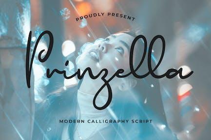 Prinzella Belle police de calligraphie