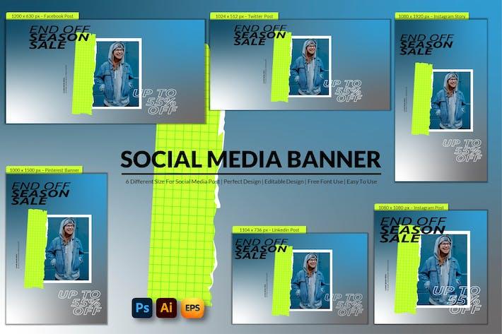 End Off Sale Social Media Banner