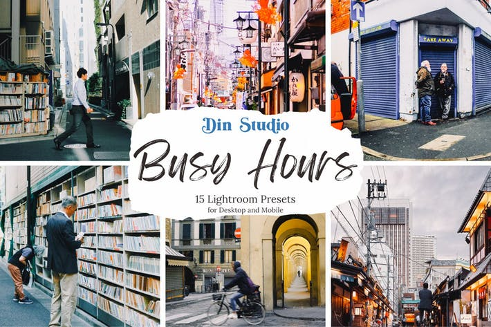 Thumbnail for Busy Hours Lightroom Presets