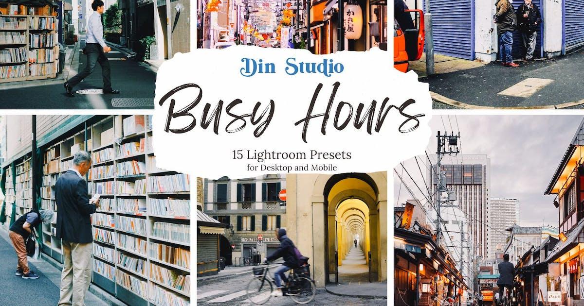 Download Busy Hours Lightroom Presets by Din-Studio