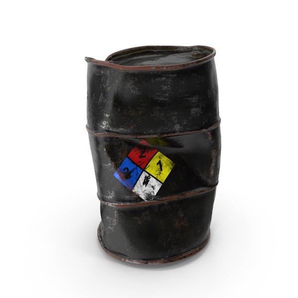 Damaged Chemical Barrel NFPA 704