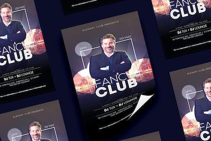 Schicker Club NachtFlyer