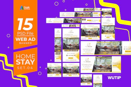 Web Ad Banners - Homestay 04