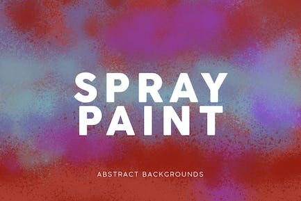 Spray Paint Colorful Backgrounds
