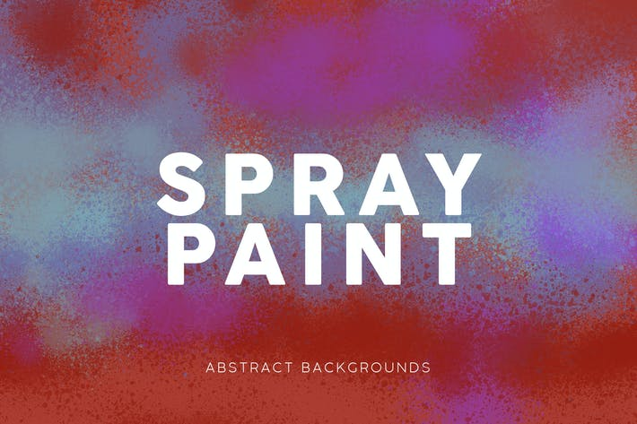 Thumbnail for Spray Paint Colorful Backgrounds