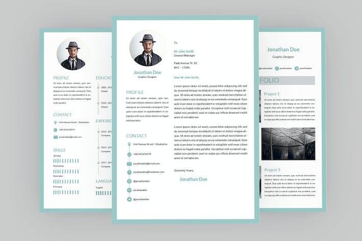 Thumbnail for Pretty Resume Designer